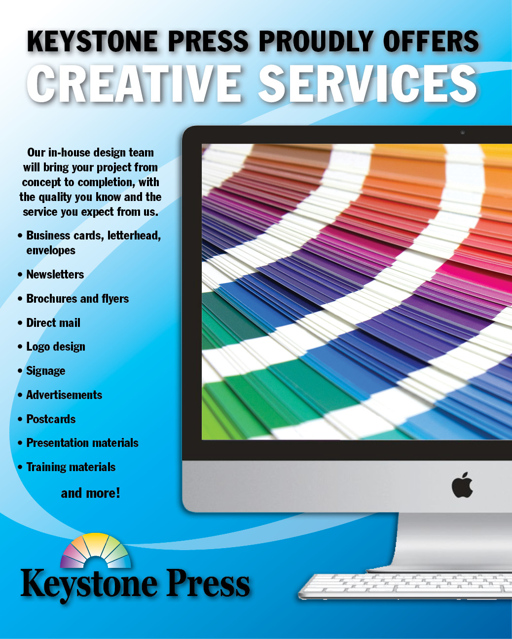 Offering Creative Services