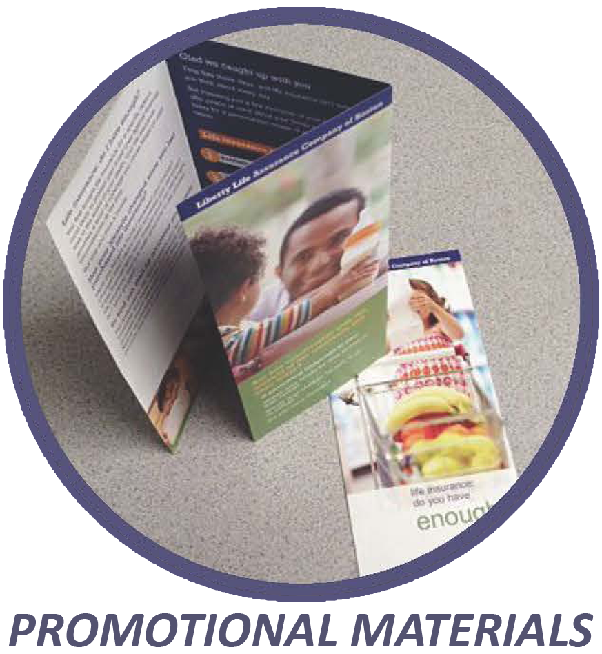 Let Keystone Press prepare your brochures.