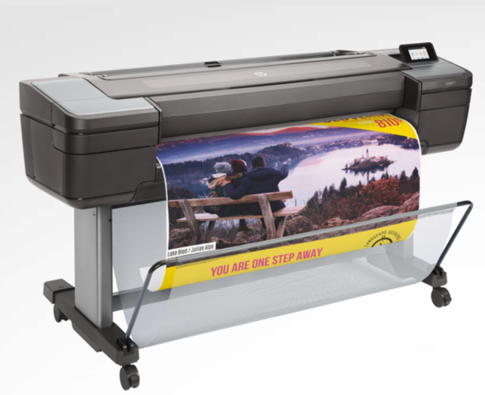 Large format digital printing on the HP DesignJet Z5600 44-in PostScript Printer